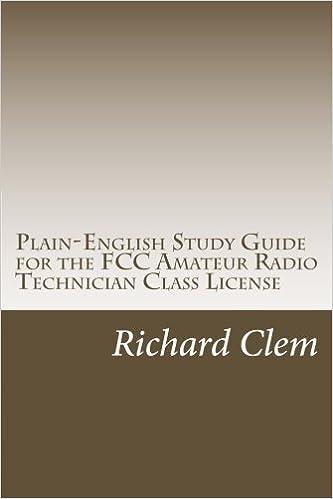 guide class Amateur technician radio study