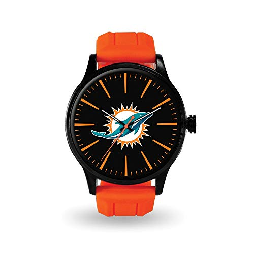 Q Gold Gifts Watches NFL Miami Dolphins Cheer Watch by Rico Industries