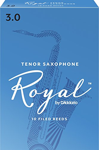 Royal Tenor Sax Reeds, Strength 3.0, 10-pack