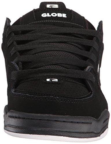 Die Fusion-Skate-Schuhe der Kugel-Männer Schwarz / Schwarz / Weiß
