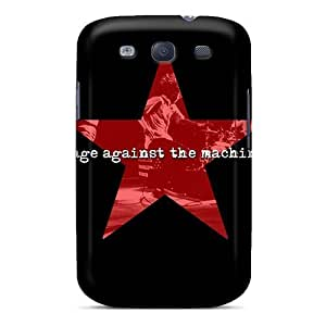 LJF phone case Fashion LTgkYRS1422YzcIA Case Cover For Galaxy S3(rage Against The Machine)