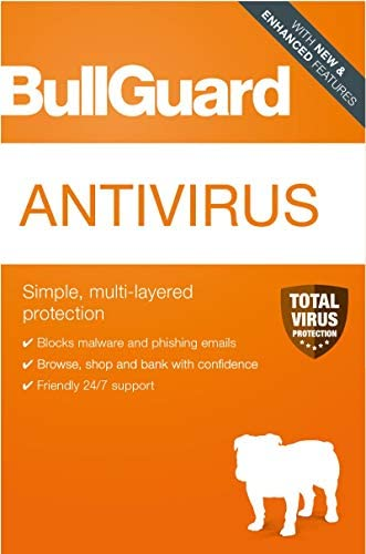 BullGuard | Antivirus 2020 | 3 Devices | 1 Year [PC Online code]