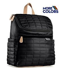 Diaper Bag Backpack with Stroller