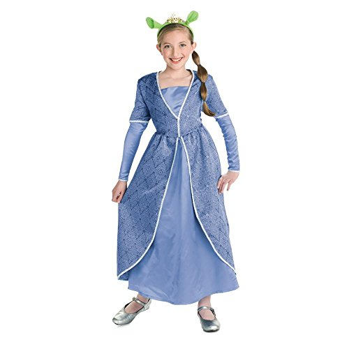 [Deluxe Fiona Girls Costume - Child Small] (Girls Princess Fiona Costumes)
