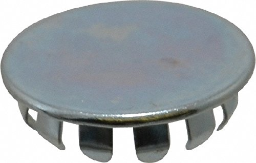 72053697 Made in USA - 1/2 Hole Size, Zinc Plated Spring Steel, Finishing Plug