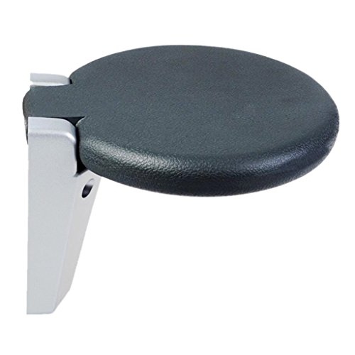 Chi Cheng Fang Electronic business Folding bathtub stool wall-mounted round bath seat elderly disabled-stool weight-bearing 150 kg by Chi Cheng Fang Electronic business