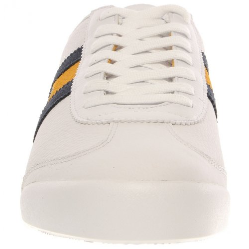 Lacoste Mens Tourelle Cl Blu Scuro / Blu Moda Sneakers Bianco