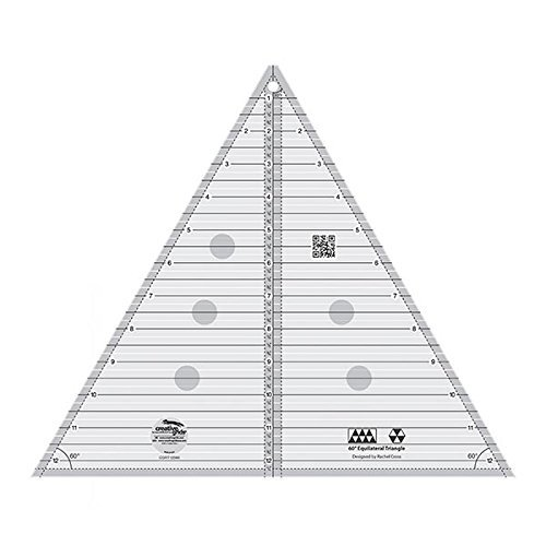 (Creative Grids 60 Degree Equilateral Triangle 12.5