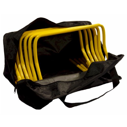 Workoutz Speed and Agility Hurdles with Carrying Bag (Set of 6)