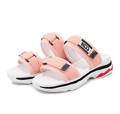 Slides Pink 2 Beach Sandals Women Melady UwRqBB