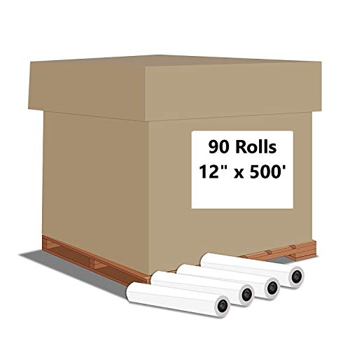 "Alliance Paper Rolls, Bond Engineering, 15"" x 500', 92 Bright, 20lb - 90 Rolls Per Pallet with 3"" Core by Alliance (Image #6)"