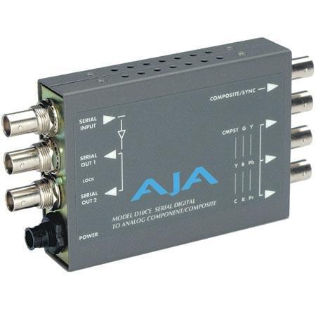 Aja D10CE SDI to Component and Composite 10 Bit Converter