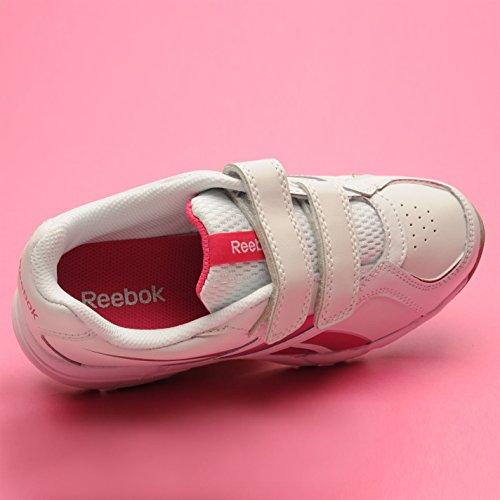 One mehrfarbig Reebok Mädchen rosa weiß Sneaker size wqUZxUXO