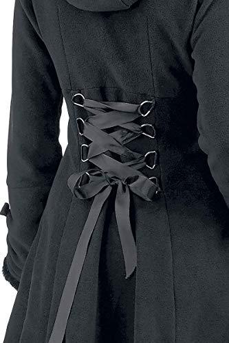 Alice Manteau Femme noir Noir Manteau Industries Poizen U6Ex88