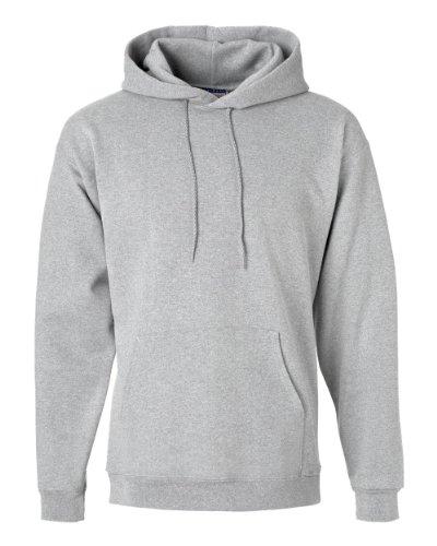 (Hanes Mens Ultimate Cotton Pullover Hooded Sweatshirt, XL, Lt Steel)