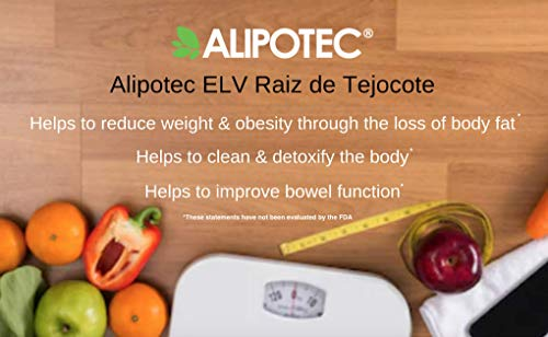 *Brand New Design* Original Elv Alipotec Tejocote Root Treatment - 1 Bottle (3 Month Treatment) - Most Popular, All-Natural Weight Loss Supplement in Mexico by Elv (Image #3)