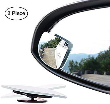 Ampper HD Glas... Fan Shape 360 Degree Rotate Sway Adjustabe Blind Spot Mirrors