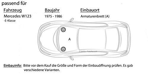 Lautsprecher Boxen JBL Stage 402 JUST SOUND best choice for caraudio Einbauset f/ür Mercedes W123 Front 2-Wege 10cm Koax Auto Einbauzubeh/ör