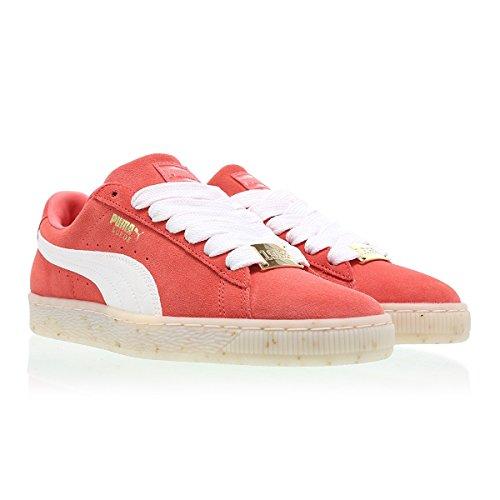 Puma Suede Classic Bboy Fabulous Mujer Zapatillas Rojo naranja