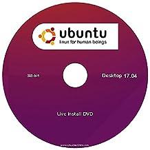 """Ubuntu v17.04 Linux Desktop Edition (32-Bit) """"NEW RELEASE"""" Install-Live DVD"""