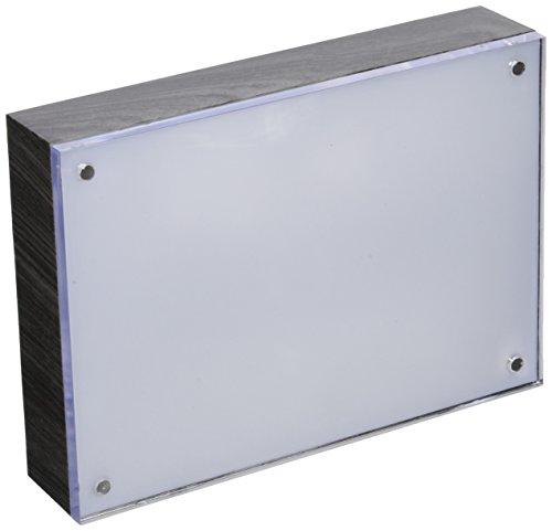 "American Crafts 663028 We R Memory Keepers Photo Lights 5"" x 7"" Acrylic Ebony Wood Frame Artists Lighting Equipment"