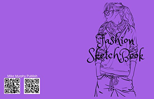 Fashion SketchBook: Figure templates and note to create your style (Fashion Design Book 2)