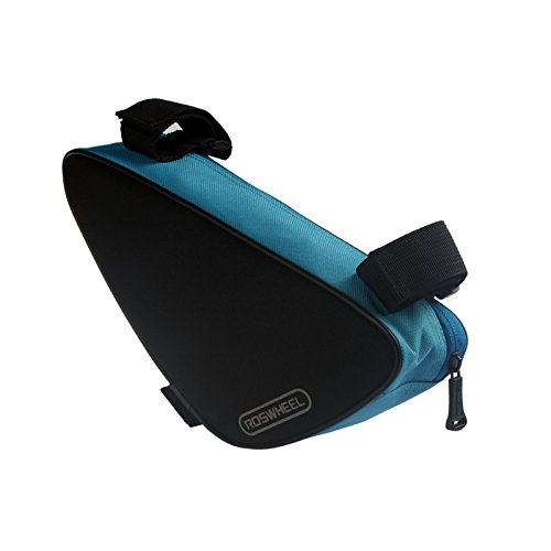Triangle Cycling Bike Bicycle Front Tube Frame Pouch Bag(Blue) - 2