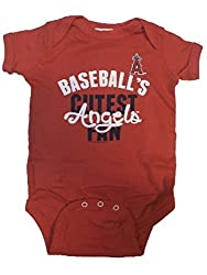 Los Angeles Angels MLB Newborn Infant Cutest Fan Creeper (0-6 Months)