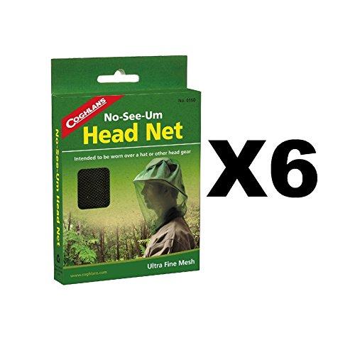 Mosquito Head Net - No-See-Um Coghlans 160 (Mosquito Net No See Um)