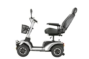 Drive Medical Osprey Heavy Duty Mobility Scooter, Grey, 22 Inch