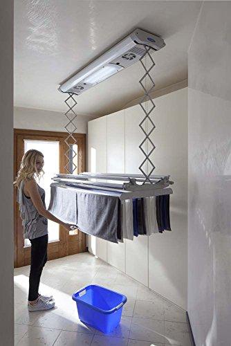 Kompakter elektrischer Wäscheständer für Wand oder Decke Foxydry Air ...