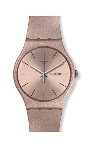 7f71703c0c7 Swatch Wristwatch Pinkbayang SUOP704  Amazon.co.uk  Watches