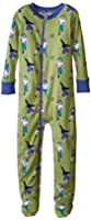 New Jammies Little Boys' Organic Cotton Footie Pajamas