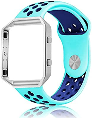 Correa de repuesto para reloj Fitbit Blaze™ de silicona, suave, para reloj deportivo, para reloj inteligente