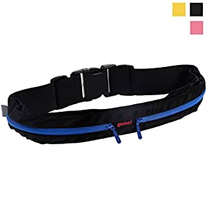 Running Belt for iPhone 6 - Samsung S6 or similar and Running Gear, Runners Bring the Essentials on your Run with this waist pack - Govivo (Blue)