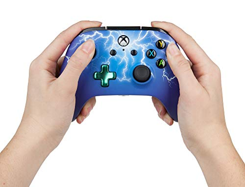 PowerA Enhanced Wired Controller for Xbox One - Spider Lightning 4