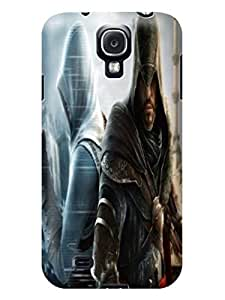 Best cool cute tpu skin back cover case for Samsung Galaxy s4 of Assassin's Creed in Fashion E-Mall