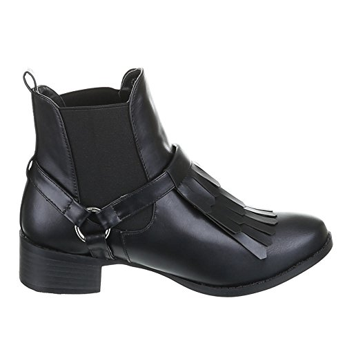 MY10073 Womens Black Boots nbsp;A Black Shoes Ankle zw5qwnvS