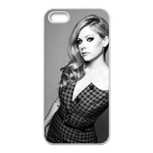 Avril Ramona Lavigne Diy Case for iPhone 5,5S ,Customized Hard case Fashion Style MK172533