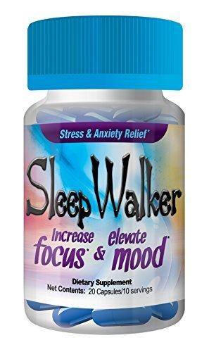 SleepWalker 20 Pill Count Bottle by sallyashop