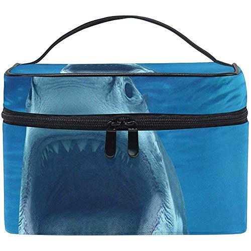 Reise-Kosmetiktasche Sea Shark Whale Toiletry Make-up Tasche Tote Case Organizer Lagerung für Frauen Mädchen
