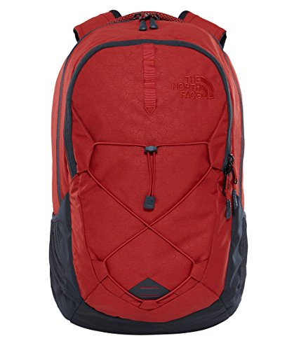 The North Face Unisex Jester Ketchup Red Emboss/Asphalt Grey One Size ()