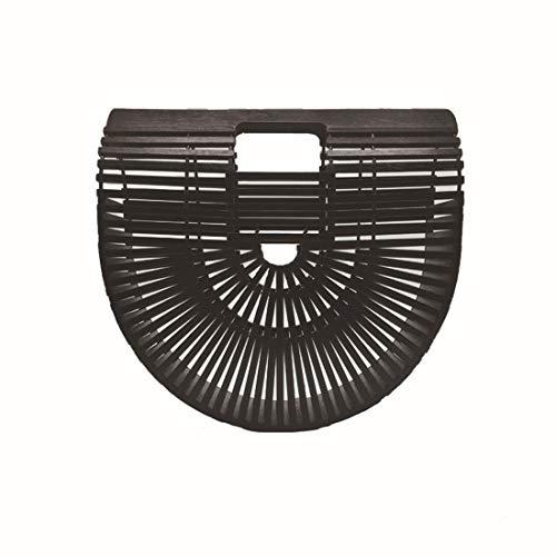 Sac Bambou Small Femme Black Size Black pour à Main en Color Tsutou 4dU1wU