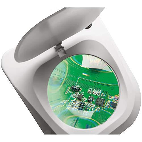 LED 90 Stck ELV Lupenleuchte 9 W Tischklemme 2,25-fache ...