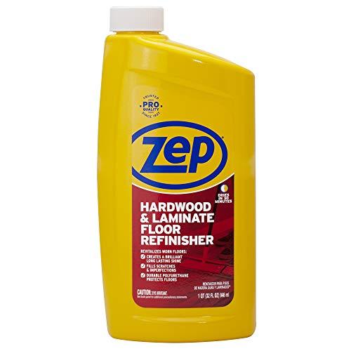 Zep 32 oz, Hardwood and Laminate Floor Refinisher 32 Ounce - Hardwood Gloss Flooring