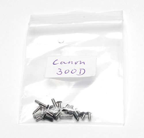 Used, Genuine Canon EOS 300D Body Screws - Replacement Repair for sale  Delivered anywhere in USA