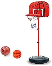 PELLOR Canasta Aro de Baloncesto Ajustable,150CM/170CM Aro de Blaconcesto con Balancesto para Niños y Infantils