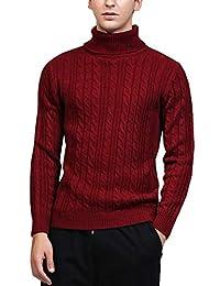 AIEOE Men Sweater Polo Plus Size Sweatshirt for Boys