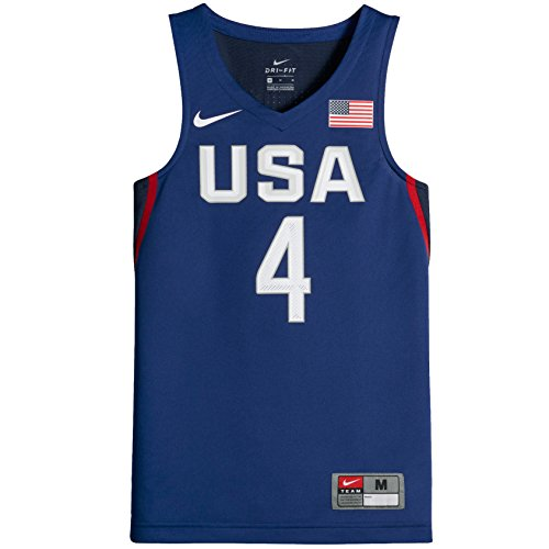 Nike Team Usa Basketball - Nike USAB (USA Basketball) (Curry) Big Kids' Sleeveless Basketball Jersey (X-Large, Game Royal)