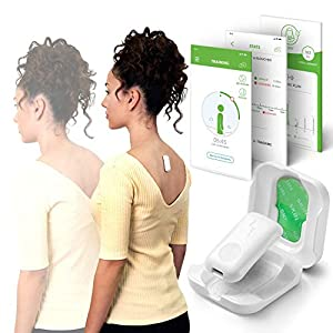 Upright GO 2 Lighter, Smaller Posture Corrector | Strapless, Discrete, Easy to Use Trainer with 30 Hours Battery Life | 1-Touch Sync App and Training Plan | Build Confidence